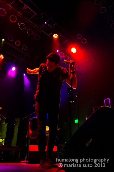 Night Riots, HOB Anaheim, 2013